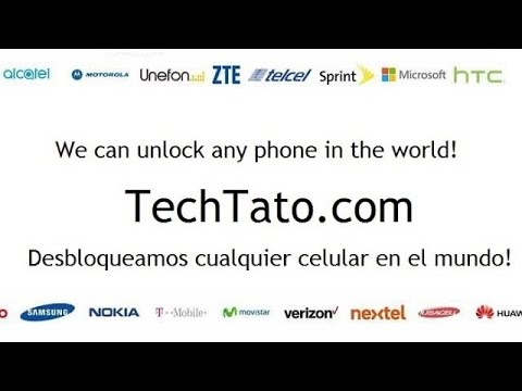 Como liberar cualquier celular Alcatel...
