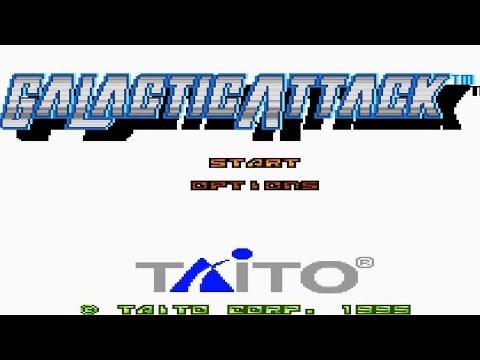 Galactic Attack Longplay Sega Saturn
