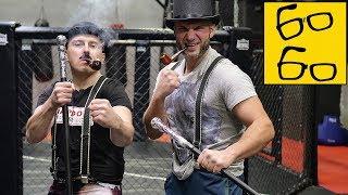 Бокс без перчаток, левая рука Льюиса и апперкот Джошуа — английская школа бокса от Святослава Шталя