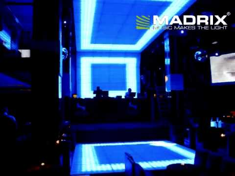 Sweet Club Cancun in Mexico - MADRIX DMX512 ArtNet DVI software