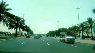 Dubai - Morning Video - Al Quds Street to Madina Mall signal. Muhaisnah