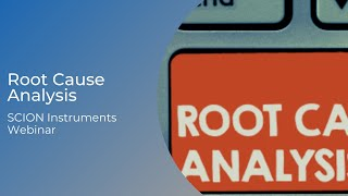 Root Cause Analysis and Common Troubleshooting in Liquid Chromatography: SCION Instruments