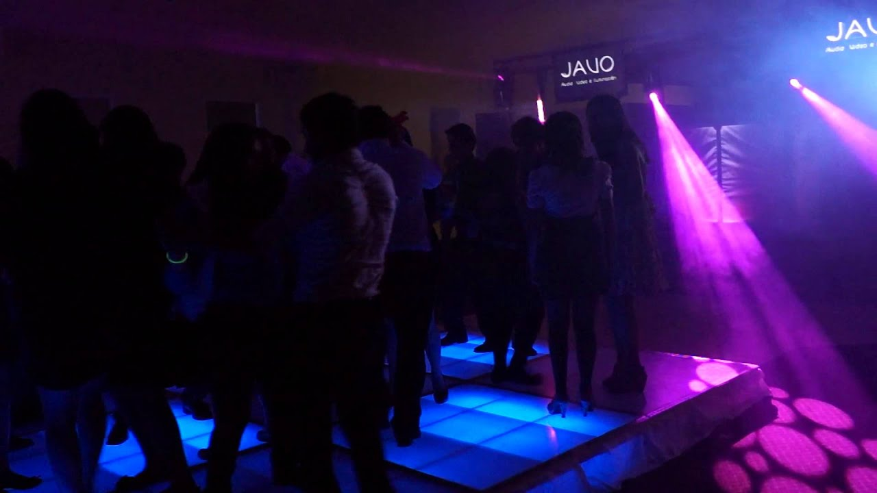 javo audio video e iluminacion en salones duxelles con pista iluminada
