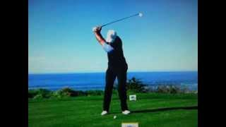 Tiger Woods - Slow Motion Pebble Beach Swing Vision SuperG (Feb 11, 2012)