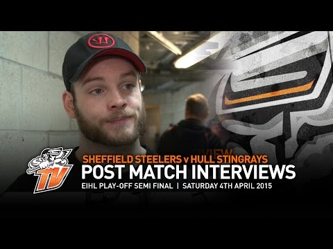 Sheffield Steelers v Hull Stingrays - Play-off Semi Final - Saturday 4th April 2015