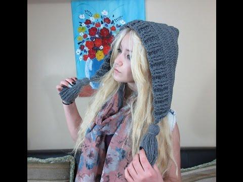 Crochet capucha, Con Ruby Stedman - YouTube