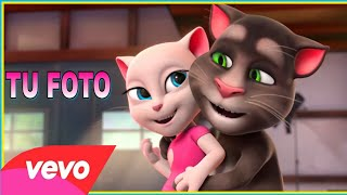 tu foto - ozuna / talking tom