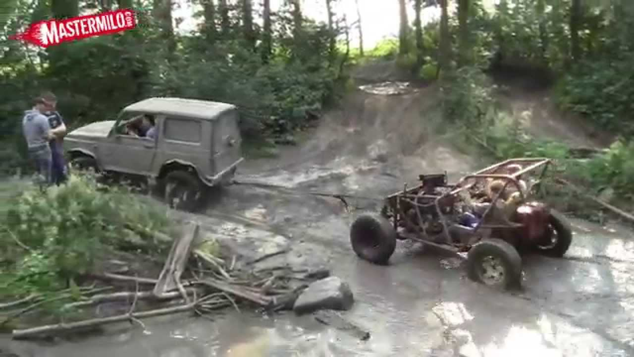 Homemade 4x4 buggy offroad test - YouTube