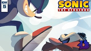 Sonic the Hedgehog (IDW) - Issue #5 Dub