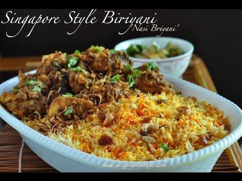 Nasi Biriyani ( Singapore & Malaysia Style Tasty Biriyani Recipe) - RecipesAreSimple