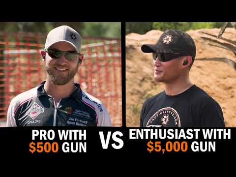 Handgun Aiming \u0026 Sight Picture: One Eye vs Two Eyes; Front Sight Aiming vs Point Shooting