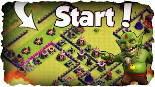 Neues RH 10 Labyrinth! | CLASH OF CLANS | Mauern to Max 207/250! (Deutsch / German)