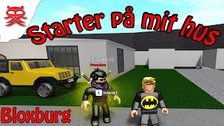 Starting at my house-Bloxburg-English Roblox