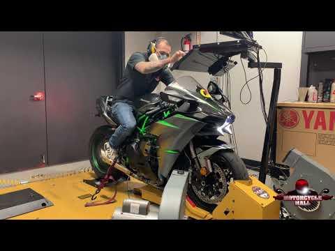2019 Kawasaki Ninja H2 Carbon   Vandemon Dyno Test