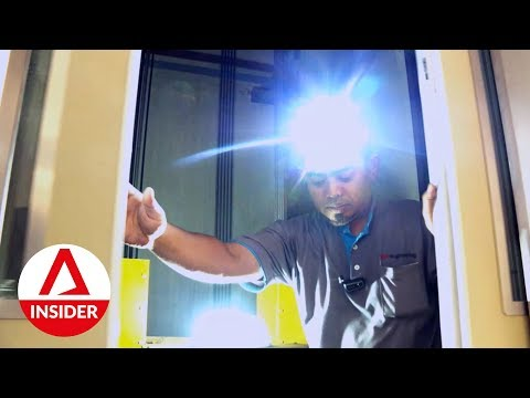 Risky Jobs: The Lift Fixer | On The Red Dot | CNA Insider