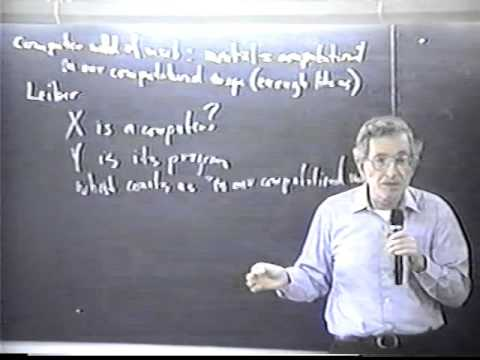 Noam Chomsky speaks about Cognitive Revolution - Part 7