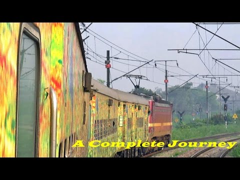 UNSTOPPABLE DURONTO Express!! A COMPLETE Journey to The CAPITAL of INDIA!!