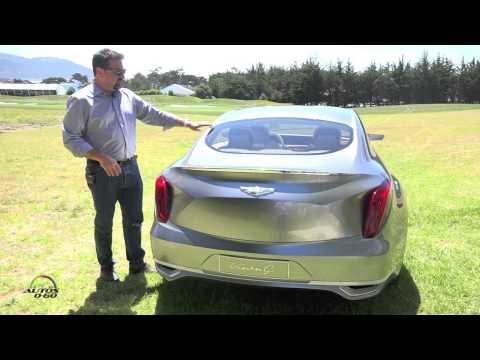 Hyundai Vision G Concept presentation by Chief Designer Chris Chapman Part IV