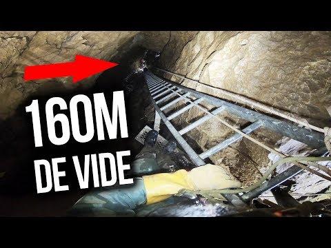 NOTRE TOURNAGE LE PLUS EXTRÊME ! (160m sous terre)