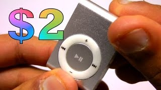 $2 Replica iPod Shuffle Review and Sound Test! (2014-2015)