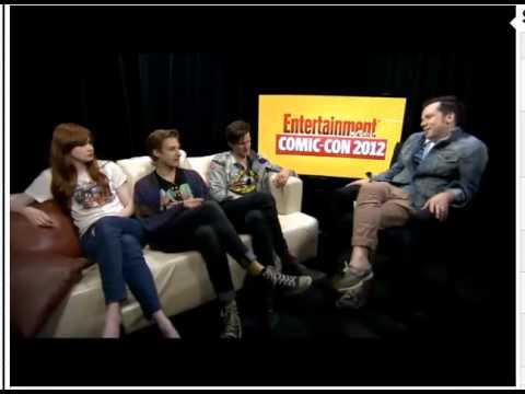 Comic-Con 2012 - Matt Smith, Karen Gillan and Arthur Darvill interviewed by EW