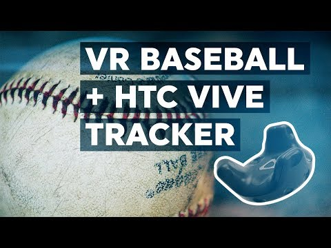 Hey Batter Batter! Baseball Practice with the HTC Vive Tracker (Unity VR 2017 Tutorial)