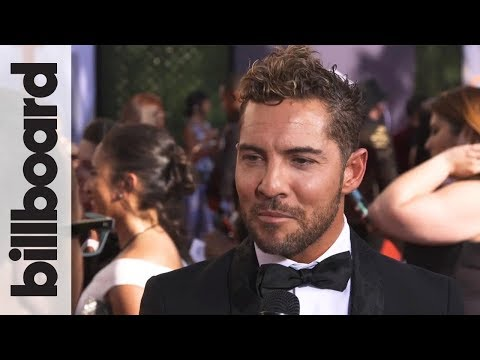 David Bisbal: Upcoming Surprise With Regional Mexican Artists | Billboard Latin Music Awards 2018