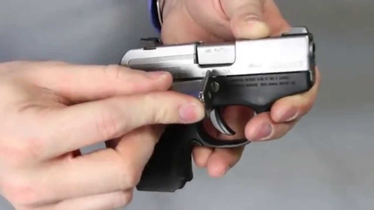 Installation of the LaserMax Laser and Light Housings for Beretta Pico