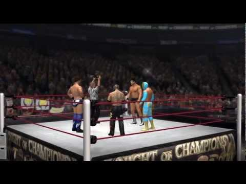 WWE Night of Champions 2012 - The Miz vs Rey Mysterio vs Sin Cara vs Cody Rhodes