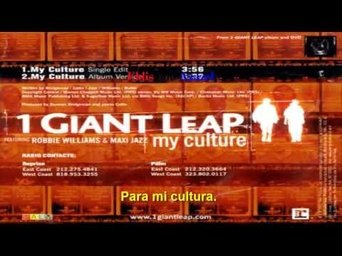 1 giant leap feat Maxi Jazz and Robbie Williams — My culture (subtitulada).