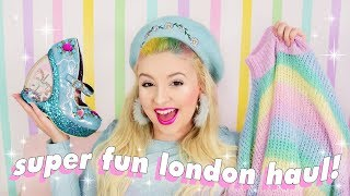 SUPER FUN LONDON HAUL 🌈💕 Irregular Choice, Lazy Oaf, SkinnyDip, Flying Tiger + More!