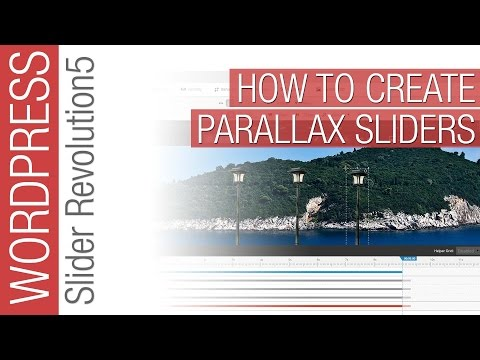 Slider Revolution 5: Creative Multi-layer Parallax Sliders Tutorial