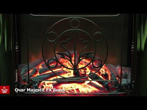 Электрический Очаг Royal Flame Majestic FX Brass. Видео 1