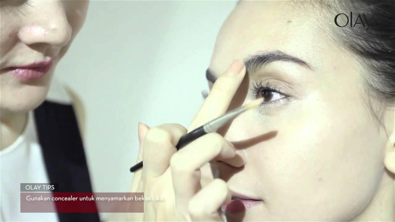 Tutorial Make Up Praktis Untuk Membantu Menyamarkan Kerutan
