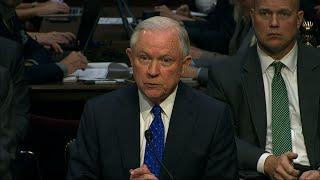 Sessions Tells Senators he Urged Comey Firing