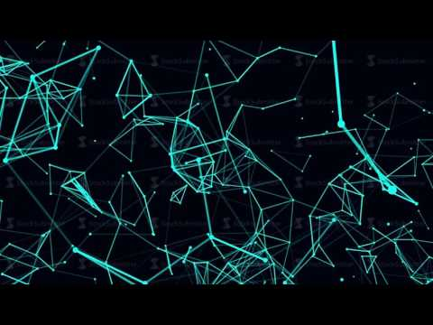 Futuristic technology background loop video without music
