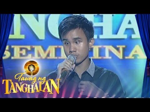 Tawag ng Tanghalan: Carlmalone Montecido - Basta't Kasama Kita (Round 3 Semifinals) - 동영상