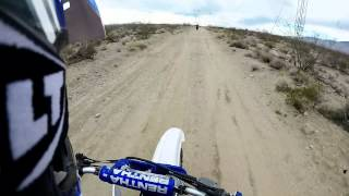Dirt Bike Riding in California City on YZ400F - YZ450F - YZ250