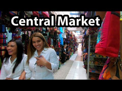 Guatemala City 2018 - Central Market Walk