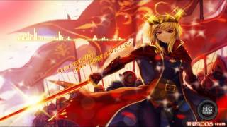 Gambar cover [Nightcore] Raise Your Flag - MAN WITH A MISSION