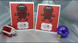 Gingerman Bread Card - Card #7