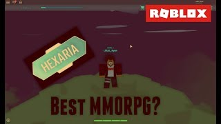 BEST MMORPG ON ROBLOX??| Roblox Hexaria| Roblox Adventures #11