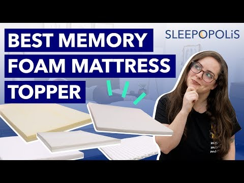 Best Memory Foam Mattress Toppers 2020 - Top 5 Picks!