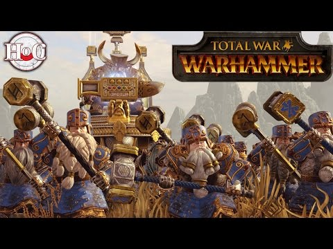 Total War Warhammer Dwarf Regiments of Renown