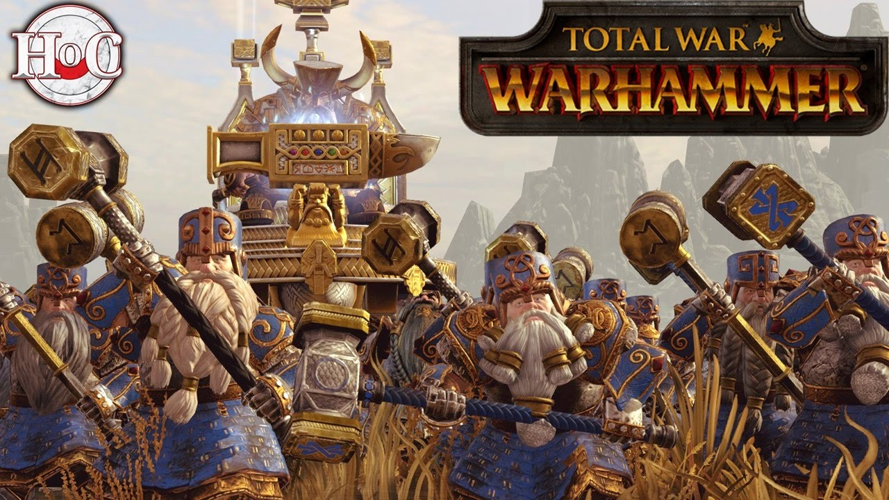 total war warhammer how to play dwarfs
