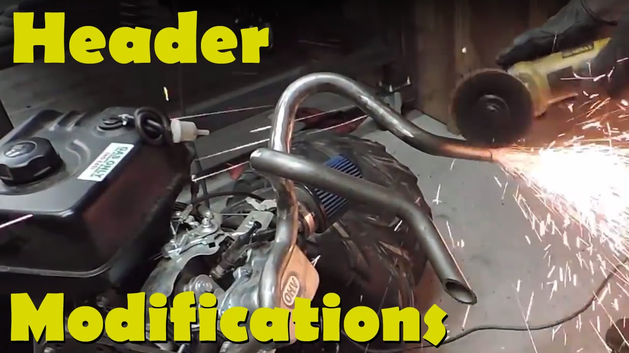 Go-Kart Header Modifications