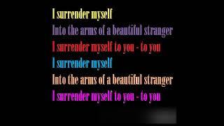 Saybia I Surrender [Lyrics]