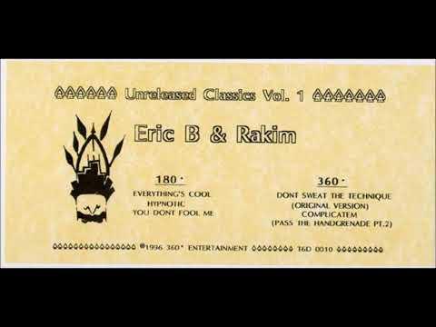 Eric B. & Rakim - Unreleased Classics, Vol. 1 (1996) 💿 (Full Album)