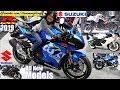 2019 Suzuki GSX-R1000, GSX-R600, GSX-R150, 2020 Suzuki Katana and More. Riding a Sportbike
