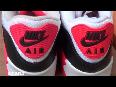 competitive price 96bb6 cb9c4 Nike Air Max 90 Infrared 2010 VS 2015 Sneaker Review + Comparison - YouTube